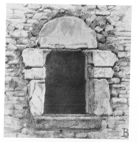 Dettaglio esterno finestra