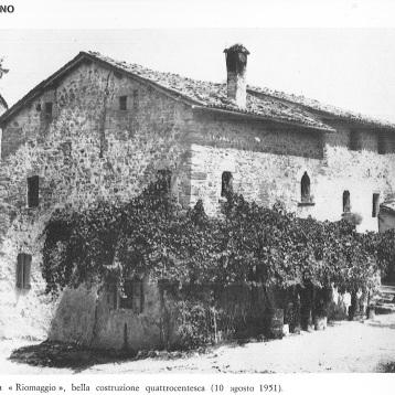 Foto del borgo nel 1951